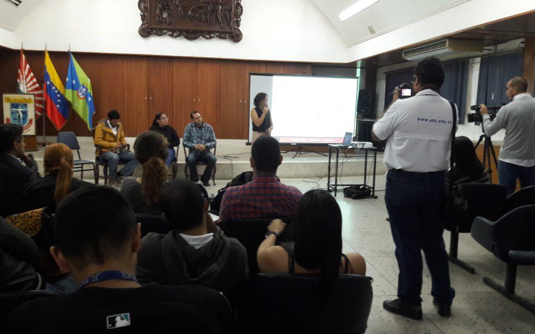 Charla. Experiencia de El Pitazo. Barquisimeto