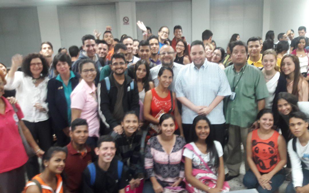Presentación de estudio. La situación del periodismo en Venezuela 2017. Maracaibo.
