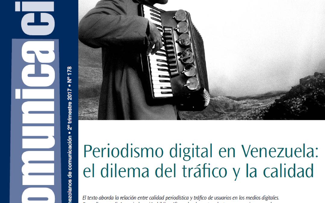 Periodismo digital en Venezuela: el dilema entre tráfico y la calidad