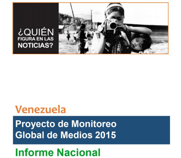 Proyecto de Monitoreo Global de Medios ¿Quién figura en las noticias?