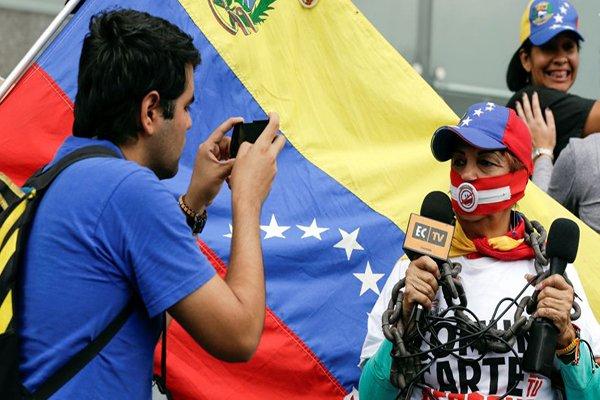 El peor año para la libertad de expresión e información en Venezuela